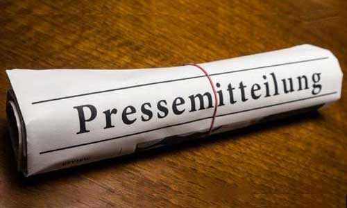 Pressemitteilungen und Tätigkeitsberichte
