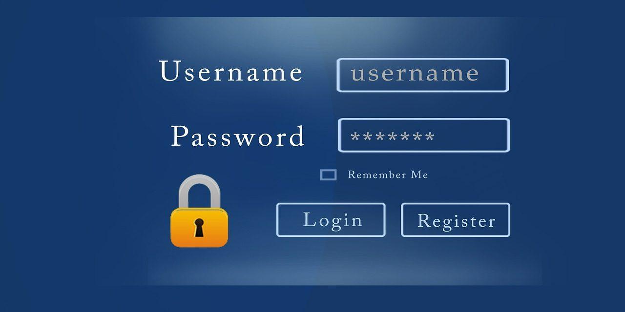 Hinweise zum Umgang mit Passwörtern