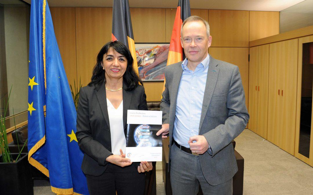 LfDI Dr. Stefan Brink stellt den 34. Tätigkeitsbericht zum Datenschutz vor