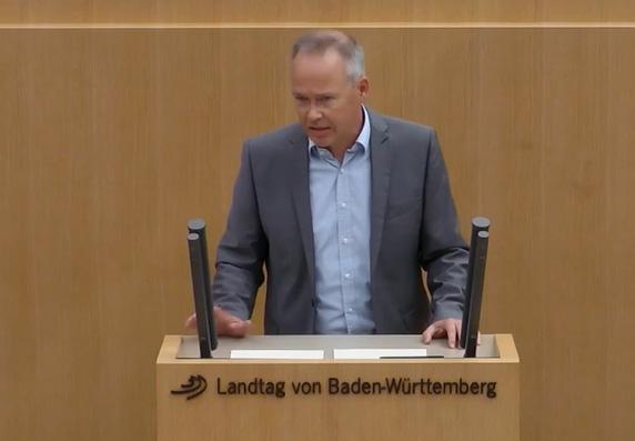 Behandlung Datenschutztätigkeitsbericht im Landtag