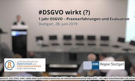 Informationsveranstaltung DSGVO wirkt (?)