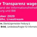 Mehr Transparenz wagen?! Zur Informationsfreiheit in Freiburg und BW