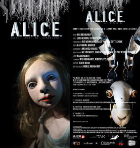 ALICE lost in cyberland - Flyer