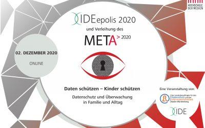 Präsentation online: IDEepolis2020 – Daten schützen – Kinder schützen
