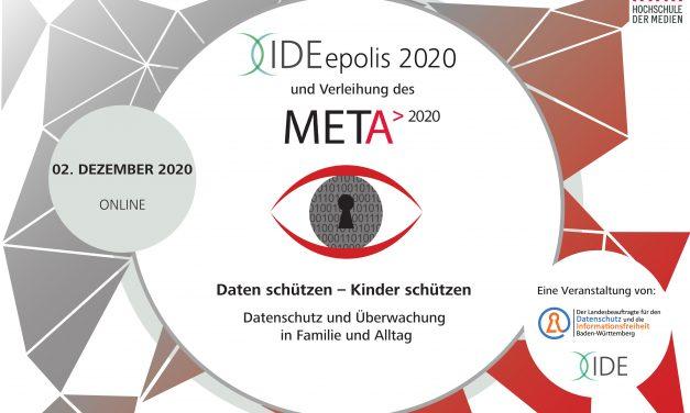 Jetzt noch anmelden: IDEepolis2020: Daten schützen – Kinder schützen