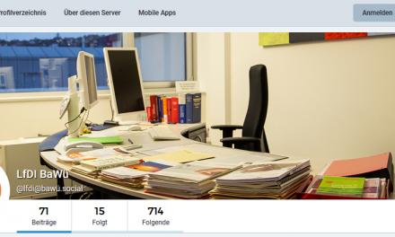 LfDI Brink nutzt und unterstützt Social Media Plattform Mastodon