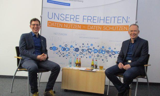 Diskussion jetzt online: Stefan Brink und der NABU-Landesvorsitzende Enssle über Transparenz bei Behörden