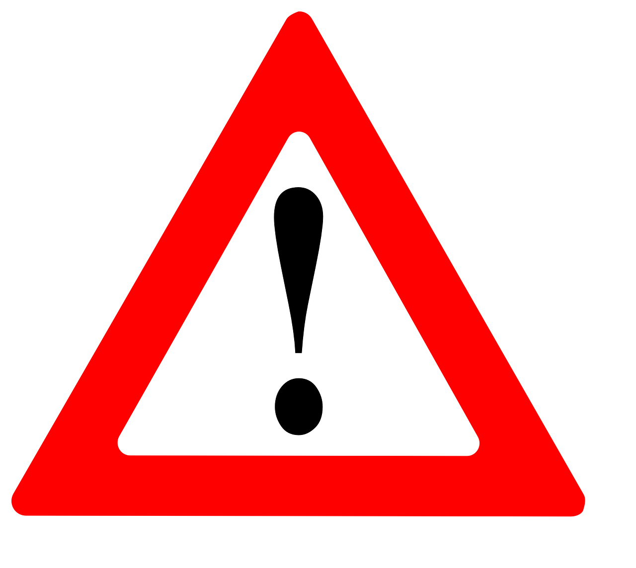 """Symbol für """"Warnung"""""""