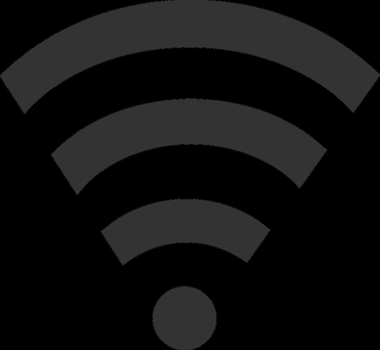 """Symbol für """"WLAN"""" oder """"WiFi"""""""