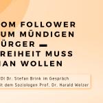 Anmeldefrist verlängert! – Diskussion zur Digitalisierung mit Prof. Welzer und dem LfDI